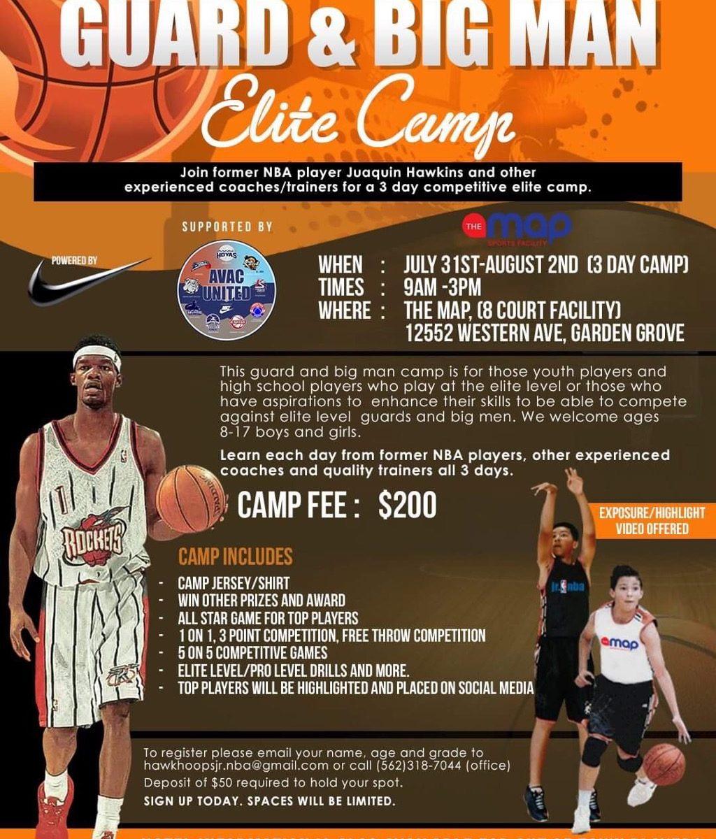 guard and big man elite camp 2019
